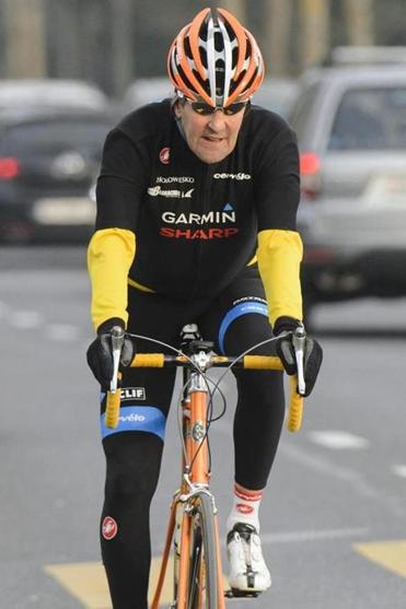 Secretary of State John F. Kerry rode a bike in March after talks in Lausanne, Switzerland, on a nuclear disarmament pact with Iran.